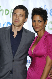 """""""Jenesse Silver Rose Luncheon""""     Olivier Martinez, Halle Berry4-17-2011 / Beverly Hills Hotel / Beverly Hills CA / Photo by Gary Lewis - Image 24054_0018"""