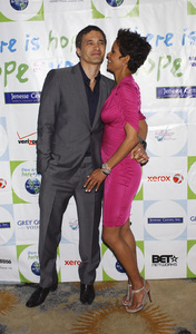 """""""Jenesse Silver Rose Luncheon""""     Olivier Martinez, Halle Berry4-17-2011 / Beverly Hills Hotel / Beverly Hills CA / Photo by Gary Lewis - Image 24054_0021"""
