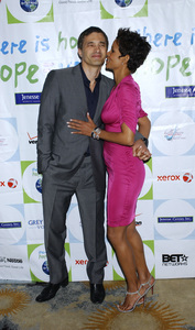 """""""Jenesse Silver Rose Luncheon""""     Olivier Martinez, Halle Berry4-17-2011 / Beverly Hills Hotel / Beverly Hills CA / Photo by Gary Lewis - Image 24054_0022"""