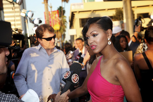 """""""Jumping the Broom"""" Premiere Meagan Good5-4-2011 /ArcLight Cinerama Dome / Hollywood CA / Sony Pictures / Photo by Imeh Akpanudosen - Image 24060_0127"""