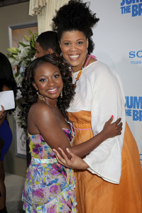 """Jumping the Broom"" Premiere Naturi Naughton, Tracy Byrd5-4-2011 /ArcLight Cinerama Dome / Hollywood CA / Sony Pictures / Photo by Imeh Akpanudosen - Image 24060_0214"