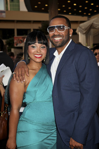 """""""Jumping the Broom"""" Premiere Michelle McCain, Mike Epps5-4-2011 /ArcLight Cinerama Dome / Hollywood CA / Sony Pictures / Photo by Imeh Akpanudosen - Image 24060_0219"""