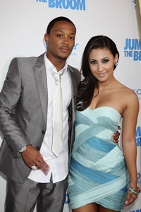 """Jumping the Broom"" Premiere Romeo Miller, Francia Raisa5-4-2011 /ArcLight Cinerama Dome / Hollywood CA / Sony Pictures / Photo by Imeh Akpanudosen - Image 24060_0229"
