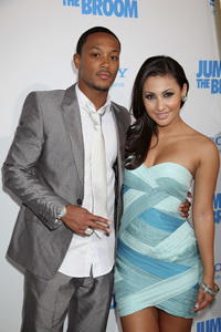 """Jumping the Broom"" Premiere Romeo Miller, Francia Raisa5-4-2011 /ArcLight Cinerama Dome / Hollywood CA / Sony Pictures / Photo by Imeh Akpanudosen - Image 24060_0230"