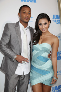 """Jumping the Broom"" Premiere Romeo Miller, Francia Raisa5-4-2011 /ArcLight Cinerama Dome / Hollywood CA / Sony Pictures / Photo by Imeh Akpanudosen - Image 24060_0231"