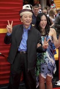 """Kung Fu Panda 2"" PremiereJames Hong, April Hong5-22-2011 / Mann"