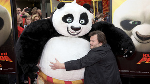 """Kung Fu Panda 2"" PremiereJack Black5-22-2011 / Mann"