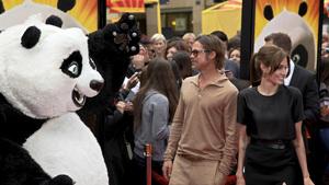 """Kung Fu Panda 2"" PremiereBrad Pitt, Angelina Jolie5-22-2011 / Mann"