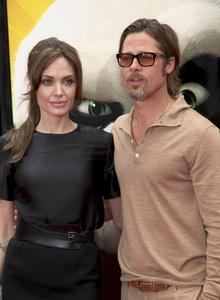 """Kung Fu Panda 2"" PremiereAngelina Jolie, Brad Pitt5-22-2011 / Mann"