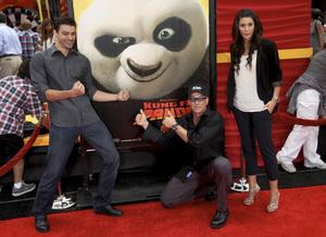 """Kung Fu Panda 2"" PremiereJean-Claude Van Damme5-22-2011 / Mann"