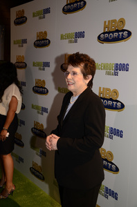 """""""McEnroe/Borg: Fire & Ice"""" PremiereBillie Jean King6-7-2011 / School of Visual Arts Theater / New York NY / HBO / Photo by Eric Reichbaum - Image 24069_0011"""