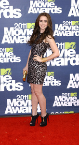 """MTV Movie Awards 2011""Lily Collins6-5-2011 / Gibson Ampitheater / Hollywood CA / MTV / Photo by Gary Lewis - Image 24071_0005"
