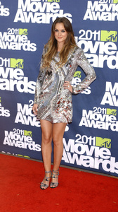 """""""MTV Movie Awards 2011""""Leighton Meester 6-5-2011 / Gibson Ampitheater / Hollywood CA / MTV / Photo by Gary Lewis - Image 24071_0044"""