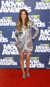 """""""MTV Movie Awards 2011""""Leighton Meester 6-5-2011 / Gibson Ampitheater / Hollywood CA / MTV / Photo by Gary Lewis - Image 24071_0045"""