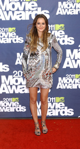 """""""MTV Movie Awards 2011""""Leighton Meester 6-5-2011 / Gibson Ampitheater / Hollywood CA / MTV / Photo by Gary Lewis - Image 24071_0048"""