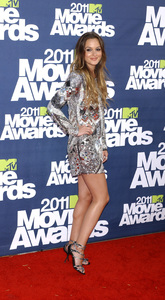 """""""MTV Movie Awards 2011""""Leighton Meester 6-5-2011 / Gibson Ampitheater / Hollywood CA / MTV / Photo by Gary Lewis - Image 24071_0051"""