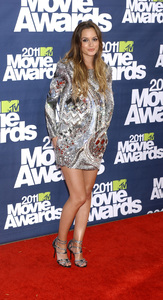 """""""MTV Movie Awards 2011""""Leighton Meester 6-5-2011 / Gibson Ampitheater / Hollywood CA / MTV / Photo by Gary Lewis - Image 24071_0052"""