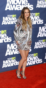 """""""MTV Movie Awards 2011""""Leighton Meester 6-5-2011 / Gibson Ampitheater / Hollywood CA / MTV / Photo by Gary Lewis - Image 24071_0054"""