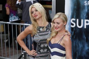 """Super 8"" Premiere Alyson Michalka, Amanda Michalka6-8-2011 / Regency Village Theater / Los Angeles CA / Paramount Pictures / Photo by Imeh Akpanudosen - Image 24072_0108"