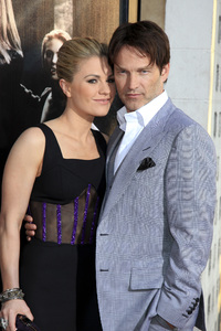 """True Blood"" Premiere Anna Paquin, Stephen Moyer6-21-2011 / Cinerama Dome / Hollywood CA / HBO / Photo by Imeh Akpanudosen - Image 24074_0029"