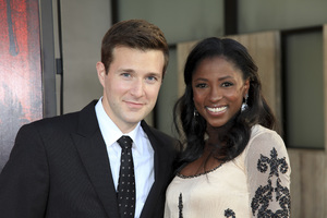 """True Blood"" Premiere Jacob Fishel, Rutina Wesley6-21-2011 / Cinerama Dome / Hollywood CA / HBO / Photo by Imeh Akpanudosen - Image 24074_0249"