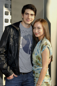 """""""True Blood"""" Premiere Brandon Routh, Courtney Ford6-21-2011 / Cinerama Dome / Hollywood CA / HBO / Photo by Gary Lewis - Image 24074_0321"""