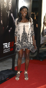 """""""True Blood"""" Premiere Rutina Wesley6-21-2011 / Cinerama Dome / Hollywood CA / HBO / Photo by Gary Lewis - Image 24074_0356"""