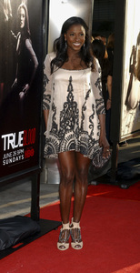 """""""True Blood"""" Premiere Rutina Wesley6-21-2011 / Cinerama Dome / Hollywood CA / HBO / Photo by Gary Lewis - Image 24074_0358"""