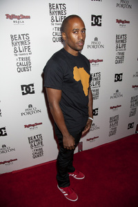 """""""Beats, Rhymes and Life: The Travels of A Tribe Called Quest"""" Premiere After Party Ali Shaheed Muhammad 6-24-2011 / Rolling Stone Restaurant and Lounge / Hollywood CA / Song Pictures Classics / Photo by Imeh Akpanudosen - Image 24078_0056"""