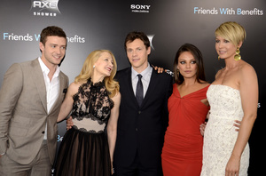 """Friends with Benefits"" Premiere Justin Timberlake, Patricia Clarkson, Will Gluck, Mila Kunis, Jenna Elfman7-18-2011 / Ziegfeld Theater / New York NY / Screen Gems / Photo by Eric Reichbaum - Image 24082_0178"