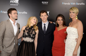 """Friends with Benefits"" Premiere Justin Timberlake, Patricia Clarkson, Will Gluck, Mila Kunis, Jenna Elfman7-18-2011 / Ziegfeld Theater / New York NY / Screen Gems / Photo by Eric Reichbaum - Image 24082_0179"