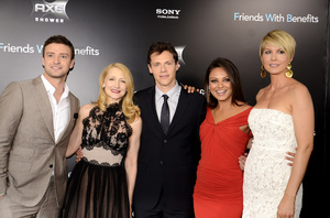 """Friends with Benefits"" Premiere Justin Timberlake, Patricia Clarkson, Will Gluck, Mila Kunis, Jenna Elfman7-18-2011 / Ziegfeld Theater / New York NY / Screen Gems / Photo by Eric Reichbaum - Image 24082_0181"