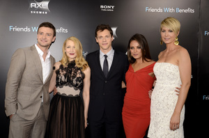 """Friends with Benefits"" Premiere Justin Timberlake, Patricia Clarkson, Will Gluck, Mila Kunis, Jenna Elfman7-18-2011 / Ziegfeld Theater / New York NY / Screen Gems / Photo by Eric Reichbaum - Image 24082_0182"