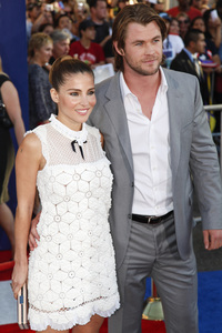 """""""Captain America: The First Avenger"""" Premiere Chris Hemsworth, Elsa Pataky7-19-2011 / El Capitan Theater / Hollywood CA / Paramount Pictures / Photo by Imeh Akpanudosen - Image 24083_0033"""