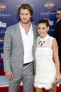 """""""Captain America: The First Avenger"""" Premiere Chris Hemsworth, Elsa Pataky7-19-2011 / El Capitan Theater / Hollywood CA / Paramount Pictures / Photo by Imeh Akpanudosen - Image 24083_0034"""