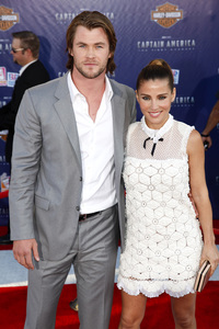 """""""Captain America: The First Avenger"""" Premiere Chris Hemsworth, Elsa Pataky7-19-2011 / El Capitan Theater / Hollywood CA / Paramount Pictures / Photo by Imeh Akpanudosen - Image 24083_0035"""