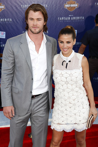 """""""Captain America: The First Avenger"""" Premiere Chris Hemsworth, Elsa Pataky7-19-2011 / El Capitan Theater / Hollywood CA / Paramount Pictures / Photo by Imeh Akpanudosen - Image 24083_0036"""