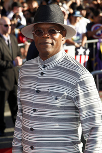 """Captain America: The First Avenger"" Premiere Samuel L. Jackson7-19-2011 / El Capitan Theater / Hollywood CA / Paramount Pictures / Photo by Imeh Akpanudosen - Image 24083_0064"