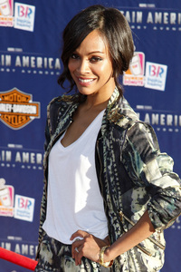 """""""Captain America: The First Avenger"""" Premiere Zoe Saldana7-19-2011 / El Capitan Theater / Hollywood CA / Paramount Pictures / Photo by Imeh Akpanudosen - Image 24083_0109"""