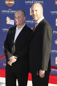 """""""Captain America: The First Avenger"""" Premiere Christopher Markus, Stephen McFeely7-19-2011 / El Capitan Theater / Hollywood CA / Paramount Pictures / Photo by Imeh Akpanudosen - Image 24083_0145"""