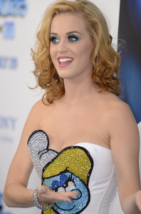 """""""The Smurfs"""" Premiere Katy Perry7-24-2011 / Ziegfeld Theater / New York NY / Columbia Pictures / Photo by Eric Reichbaum - Image 24085_0009"""