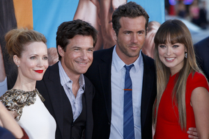 """The Change-Up"" Premiere Leslie Mann, Jason Bateman, Ryan Reynolds, Olivia Wilde8-1-2011 / Village Theater / Westwood CA / Universal Pictures / Photo by Imeh Akpanudosen - Image 24087_0132"
