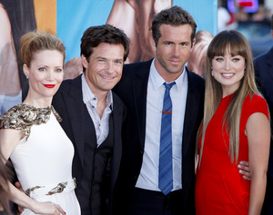 """The Change-Up"" Premiere Leslie Mann, Jason Bateman, Ryan Reynolds, Olivia Wilde8-1-2011 / Village Theater / Westwood CA / Universal Pictures / Photo by Imeh Akpanudosen - Image 24087_0133"