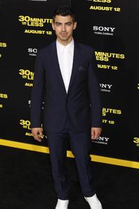 """30 Minutes or Less"" Premiere Joe Jonas8-8-2011 / Grauman"