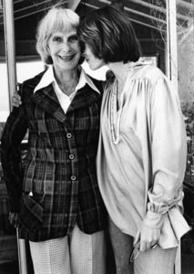 Lee Grant at her Malibu home with her mother1978© 1978 Ulvis Alberts - Image 2410_0015