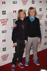 """American Horror Story"" Premiere Kai Schulz, Bodhi Schulz9-3-2011 / Cinerama Dome / Hollywood CA / FX / Photo by Benny Haddad - Image 24116_0015"