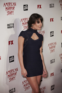 """American Horror Story"" PremiereLea Michele 9-3-2011 / Cinerama Dome / Hollywood CA / FX / Photo by Benny Haddad - Image 24116_0061"