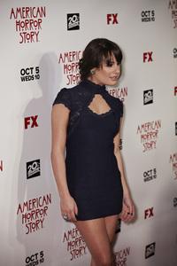 """American Horror Story"" PremiereLea Michele 9-3-2011 / Cinerama Dome / Hollywood CA / FX / Photo by Benny Haddad - Image 24116_0061"