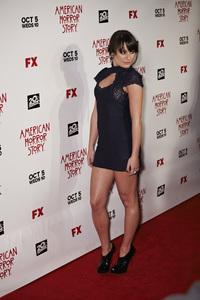 """American Horror Story"" PremiereLea Michele 9-3-2011 / Cinerama Dome / Hollywood CA / FX / Photo by Benny Haddad - Image 24116_0062"