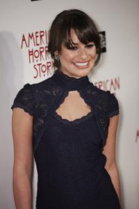 """American Horror Story"" PremiereLea Michele 9-3-2011 / Cinerama Dome / Hollywood CA / FX / Photo by Benny Haddad - Image 24116_0063"